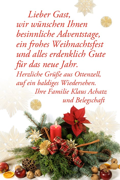 Adventsgruss